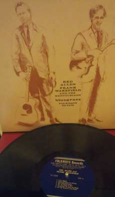 Red Allen, Frank Wakefield and the Kentuckians: Bluegrass