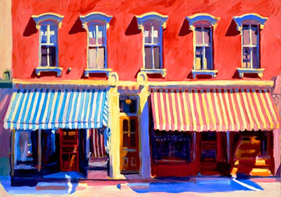 Paintings by Roger Mason @ The Chatham Bookstore