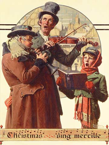 Norman Rockwell: Christmas Trio @ Norman Rockwell Museum