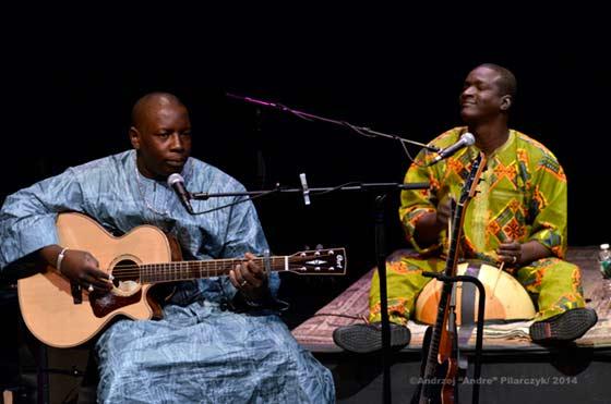 Vieux Farka Toure and Souleymane Kane