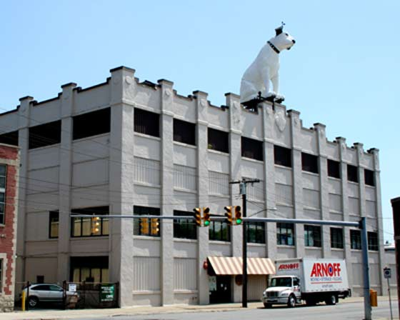 The Arnoff Building is for sale.