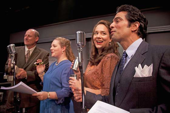 It's a Wonderful Life: The Radio Play runs from Dec. 5-28. (photo: Enrico Spada)