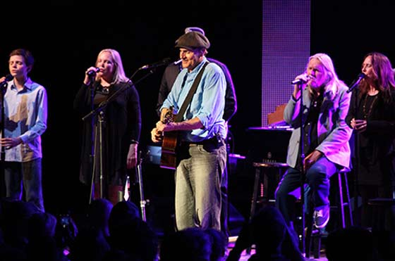 The Berkshires love James Taylor's appearances at Tanglewood as much as those of the Boston Symphony Orchestra.