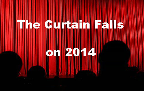 The curtain falls on 2014