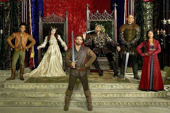 Galavant the musical by Alan Menken and Glenn Slater on ABC Sunday nights in January.