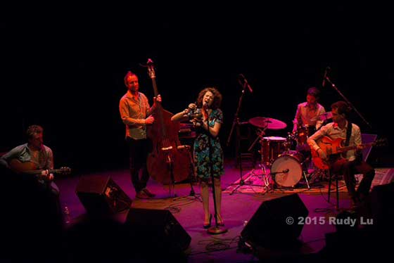 Cyrille Aimee and her band