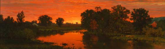 George Inness: Twilight @ Williams College Museum of Art