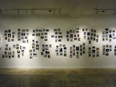 ARTIST UNKNOWN (installation view) @ HVCC Teaching Gallery