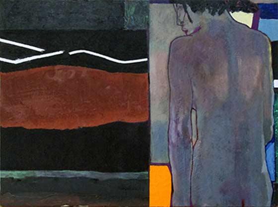 Thomas Micchelli: Bacchante (back) @ John Davis Gallery