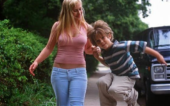 Patricia Arquette and Ellar Coltrane in Boyhood