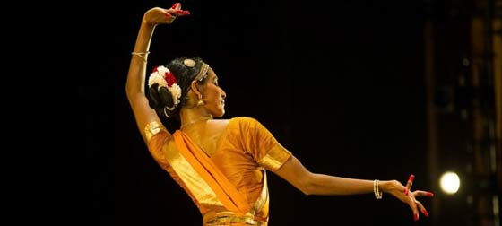 Shantala Shivalingapa in performance. (photo:  Christopher.Duggan)