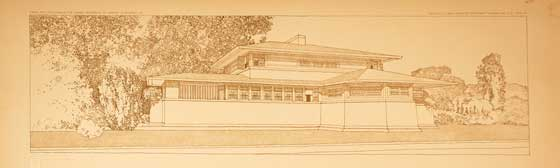 Frank Lloyd Wright: Wasmuth Portfolio @ Williams College Museum of Art