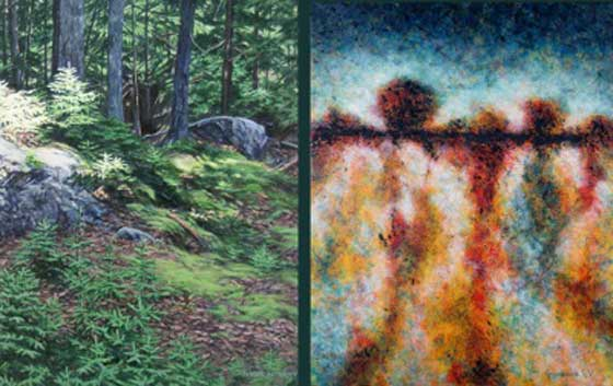 Works by Janice Anthony and Gordana Vukovic @ The Clement Art Gallery