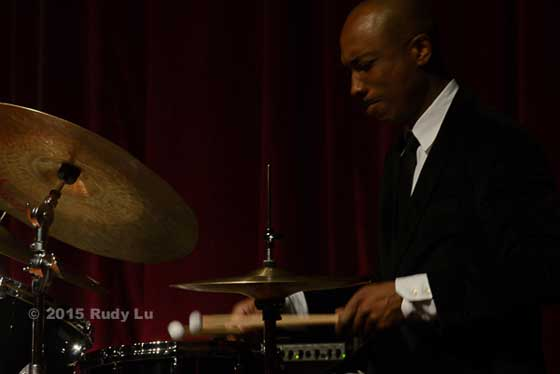 Eric McPherson of the Fred Hersch Trio