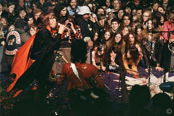 Mick Jagger Onstage @ Altamont