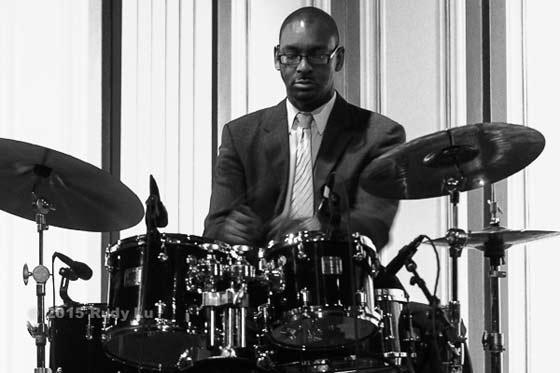 Jason Marsalis of the Marcus Roberts Trio