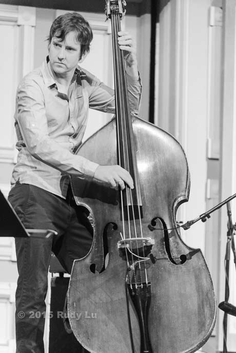 Joe Martin of the Anat Cohen Quartet