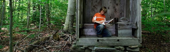 Rachel Papo: Roan with the Outhouse Guestbook @ Center for Photography at Woodstock