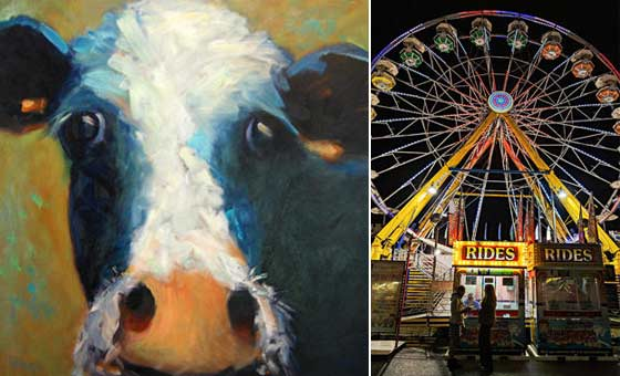 Works by Olive Farrell and Denise B. Chandler @ Tivoli Artists Gallery
