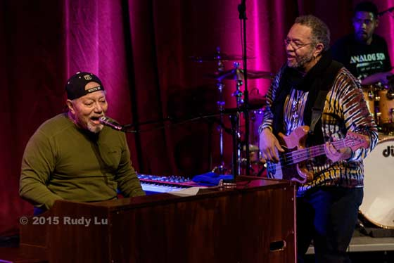 Art Neville and George Porter