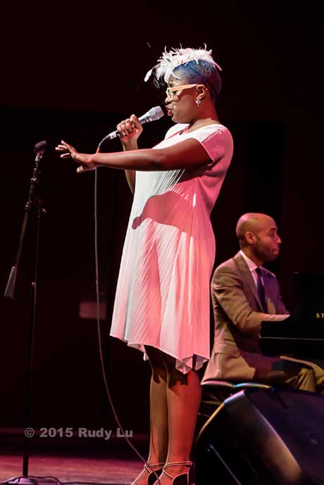 Cecile McLorin Salvant and Aaron Diehl