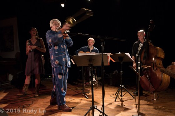 Heather Masse, Roswell Rudd, Rolf Sturm and Mark Helias