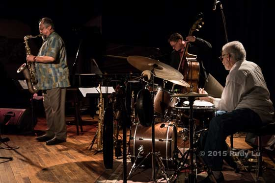 Joe Lovano, Doug Weiss and Carmen Castaldi