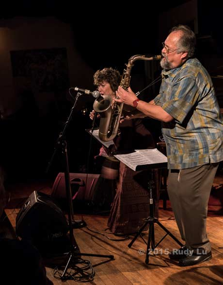 Judi Silvano and Joe Lovano