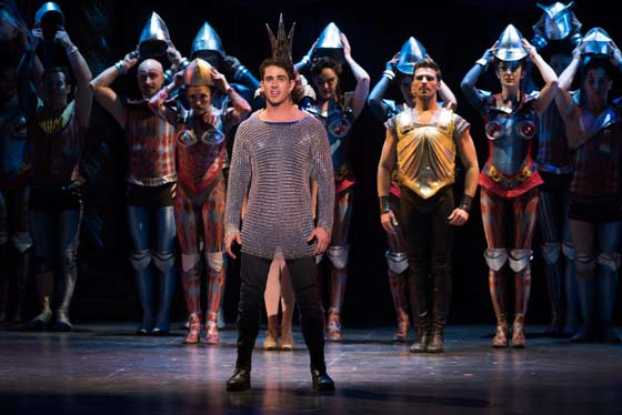 Sam Lips as Pippin  (photo: Martha Rial)