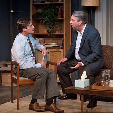 L to R: Mark H. Dold as Ian and Wilbur Edwin Henry as John (photo: David Fertik)