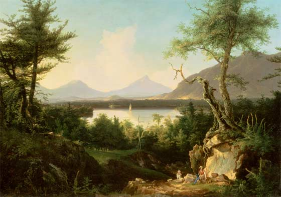 Thomas Cole: Lake Winnepesaukee @ Albany Institute of History and Art