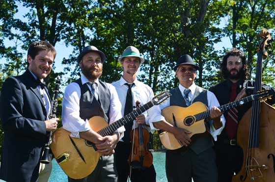 Saturday, July 25: Hot Club of Saratoga