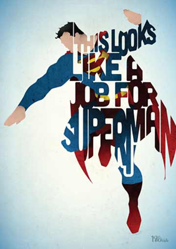 Peter Ware; A Job for Superman @ Lichtenstein Center for the Arts