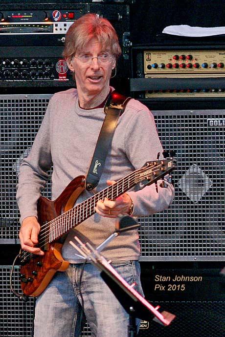 Phil Lesh at Mountain Jam, 2007