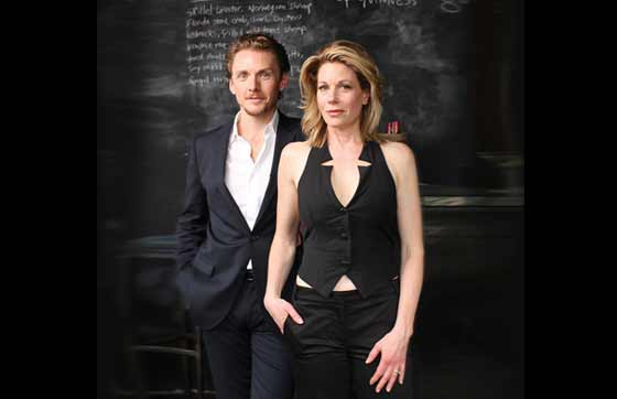 "'Broadway's Golden Couple' Jason Danieley and Marin Mazzie star in ""Broadway and Beyond"" at Barrington Stage on July 27, 2015."