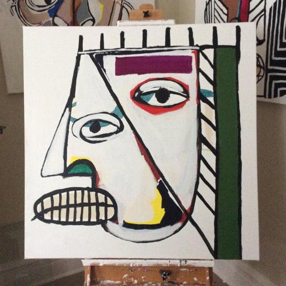 Paintings by Jack Walls @ Basilica Hudson
