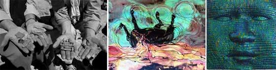 Works by Sue Lezon, Carol Law Conklin and Chuck Von Schmidt @ Lapham Gallery