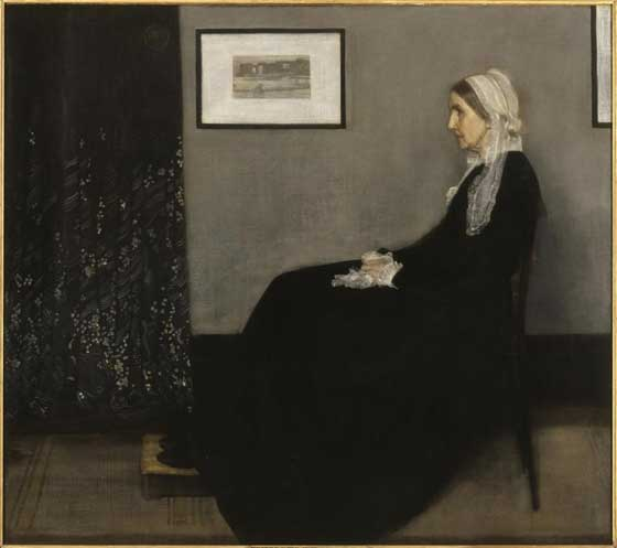 James McNeill Whistler: Arrangement in Grey and Black No.1 @ The Clark