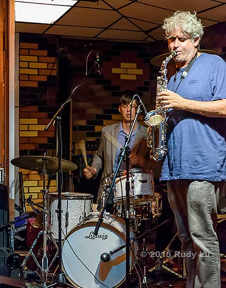 Ches Smith and Tim Berne