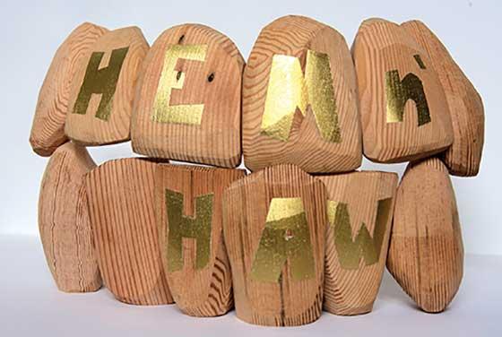 Willima Ranson: Hem n' Haw @ John Davis Gallery