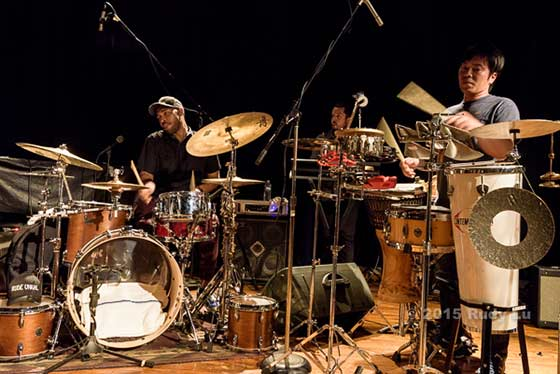Eric Harland, Carlos Horns and Keita Ogawa