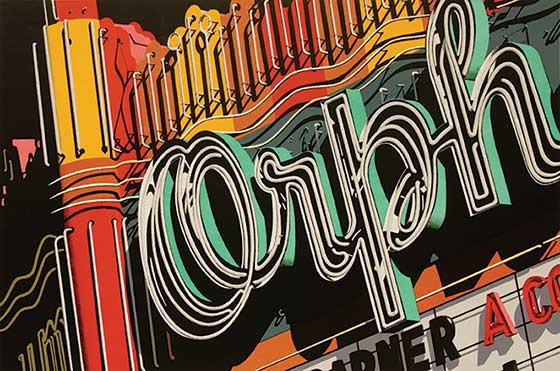 Robert Cottingham: Orph @ The Hyde Collection