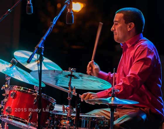 Dave Potter of the Jason Marsalis Quartet