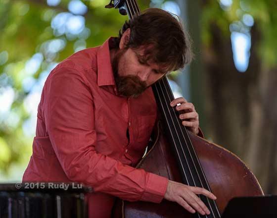 Edward Perez of the Victor Prieto Trio