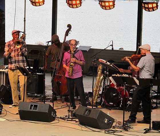 The Jazz Passengers (photo by Richard Brody)