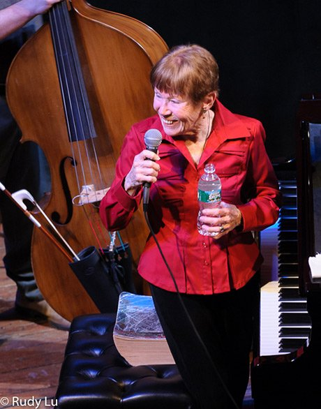 Lee Shaw at her Tribute Concert at Cohoes Music Hall, 2009
