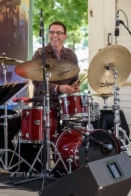 Vince Cherico of the Victor Prieto Trio