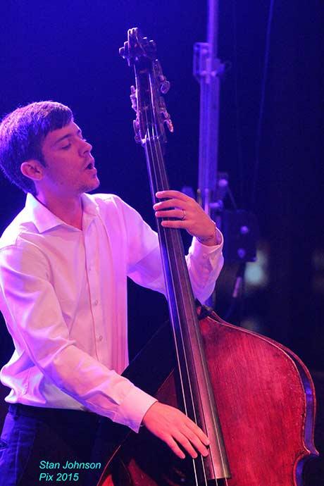 Will Goble of the Jason Marsalis Quartet