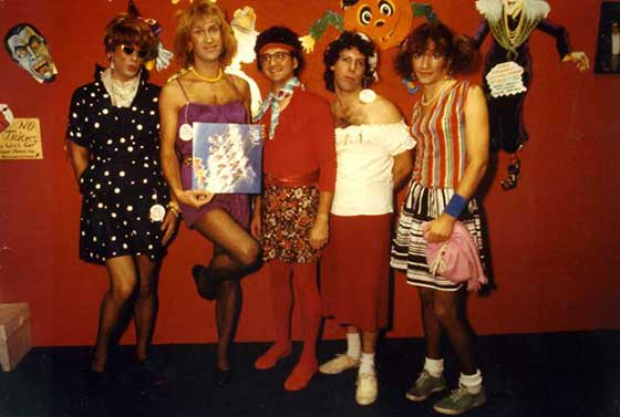 Blottoween with Blotto @ Wheels Plus, 10/29/82