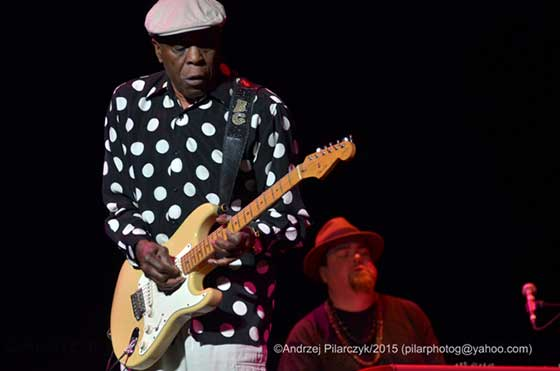 Buddy Guy and Marty Sammon